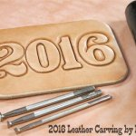 2016 Leathercraft Leather Carving by Bruce Cheaney