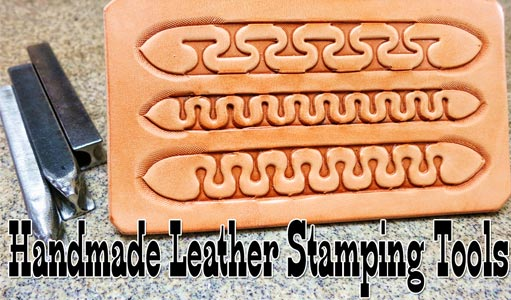 handmade leather stamping tools
