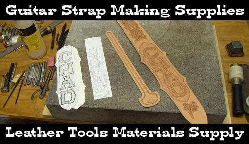 guitar strap making supplies