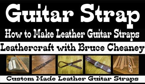 guitar strap making