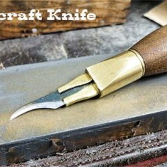 leather knife sharpening